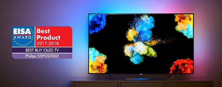 Philips TV Wins the EISA Award for Best Buy OLED TV 2017-2018 - TP ...