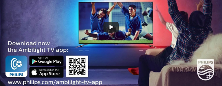 Wave your flag with the Philips Ambilight TV app - video - TP Vision